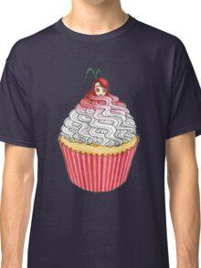 Cute Cupcake Girl Classic T-Shirt