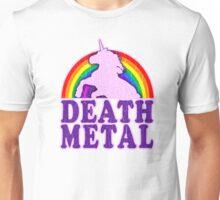 Funny! Death Metal Unicorn (vintage distressed) Unisex T-Shirt