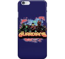Retro Guardians iPhone Case/Skin