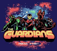 Retro Guardians by KindaCreative