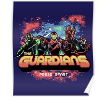 Retro Guardians Poster