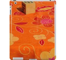 restaurant table iPad Case/Skin