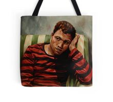 Evening Portrait of a Young Man Tote Bag