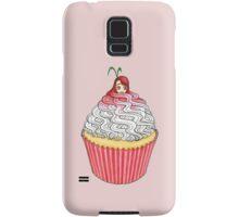Cute Cupcake Girl Samsung Galaxy Case/Skin