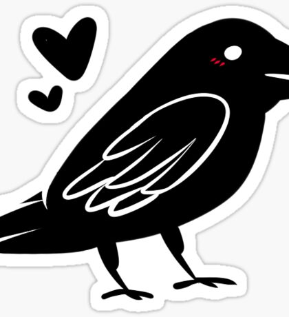 Crow Friend Sticker