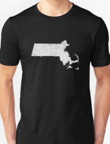 Marble Massachusetts Unisex T-Shirt
