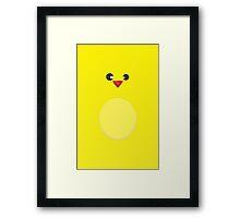 Hug a chick Framed Print