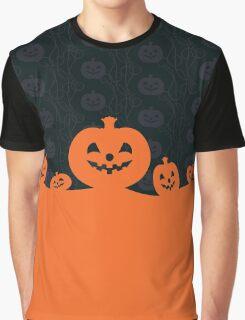 Pumpkins Design Graphic T-Shirt