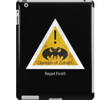 Repel First!! iPad Case/Skin