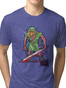Post-Battle Link Tri-blend T-Shirt