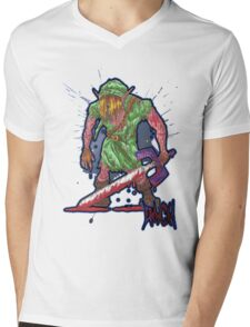 Post-Battle Link Mens V-Neck T-Shirt