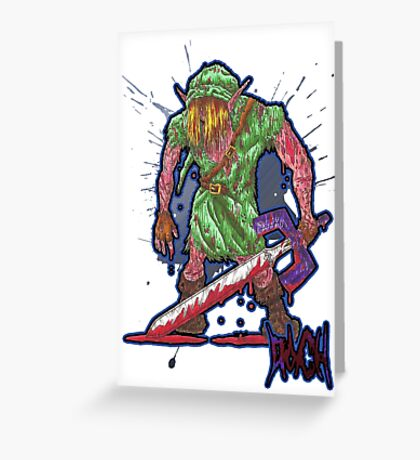 Post-Battle Link Greeting Card