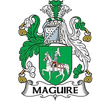 Maguire Coat of Arms (Irish) Photographic Print