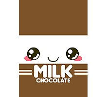 Chocolate Milk Carton Photographic Print