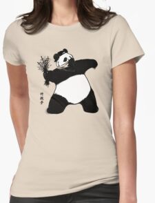 Bamboo Thrower Womens Fitted T-Shirt