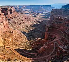 Shafer Trail - Utah by Gary Gray