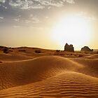 The Algerian Sahara by Omar Dakhane