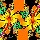 Fractal Hibiscus by Bunny Clarke