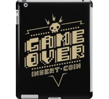 Game Over (Classic) iPad Case/Skin