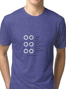 Round Things Tri-blend T-Shirt