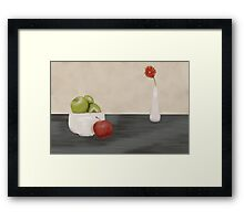 Apple Still Life Framed Print