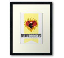 Stannis Baratheon Sigil Framed Print