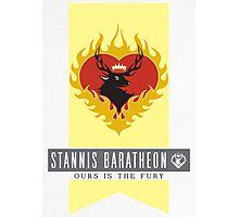 Stannis Baratheon Sigil Photographic Print
