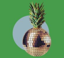 Ananas Party (pineapple) blue version One Piece - Short Sleeve