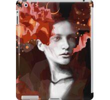 Wordless fight iPad Case/Skin