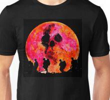 Death under a blood moon Unisex T-Shirt