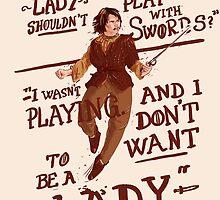 Gimme swords, not Ladys by Stefan Große Halbuer