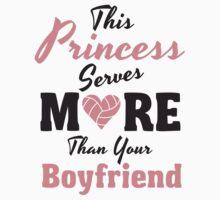 This Princess serves more than your Boyfriend by nektarinchen