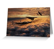 The Bomber Age  Greeting Card