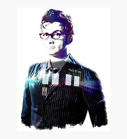 David Tennant - Doctor Who Photographic Print