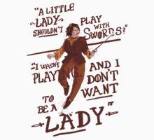 Gimme swords, not Ladys T-Shirt