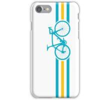 Bike Stripes Kazakhstan v2 iPhone Case/Skin