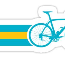 Bike Stripes Kazakhstan Sticker