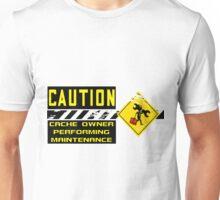 Geocaching Cache Maintenance Run Unisex T-Shirt
