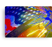 American beauty, through celebration and sorrow Canvas Print