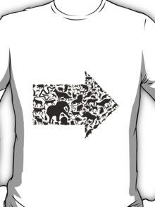 Animal arrow T-Shirt