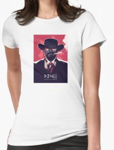 django unchained Womens Fitted T-Shirt
