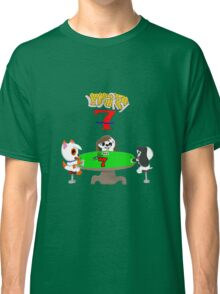 Gamebuster911TV's Lucky Seven Year Anniversary (Sam, Tony, and Almond) Classic T-Shirt