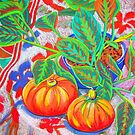 Still Life with Pumpkins by marlene veronique holdsworth