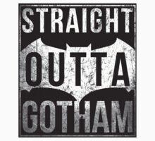 Straight outta Gotham Kids Tee