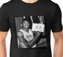 Kobe Bryant - 81 points Unisex T-Shirt
