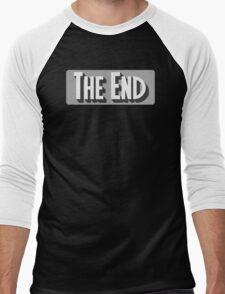 The End Classic Movie T Shirt Men's Baseball ¾ T-Shirt