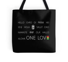 One Love Languages - Be a part of the GRATUS global family! Tote Bag
