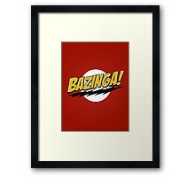 Bazinga! Framed Print
