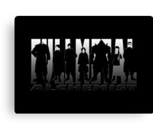 Metal Shadow Clan  Canvas Print