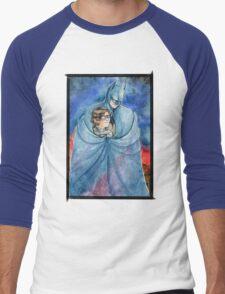 Cold night in Gotham... Men's Baseball ¾ T-Shirt